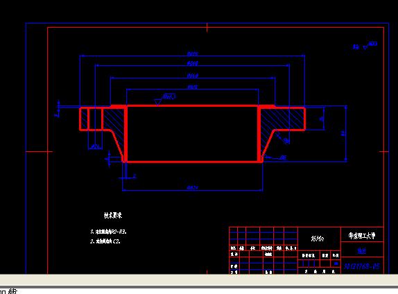 A3 填料函式换热器法兰