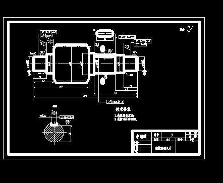 课程设计圆锥圆柱齿轮减速器含cad图纸零件图