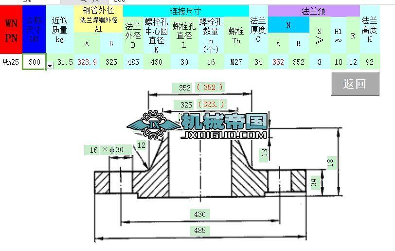 HG-T20592法兰查询系统