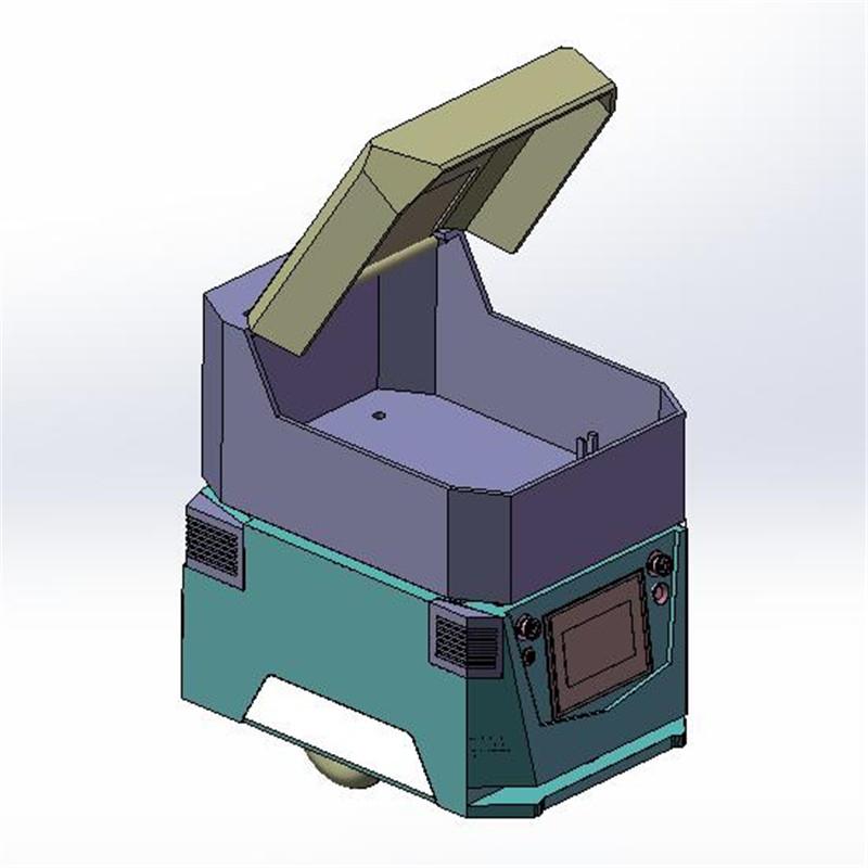 仓储物流AGV自动引导运输小车
