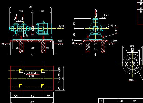 暖风器疏水泵