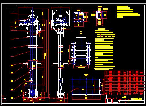 NSE50高速板链式斗提机.DWG