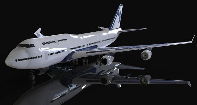 波音客机飞机模型3D图纸 CATIA设计
