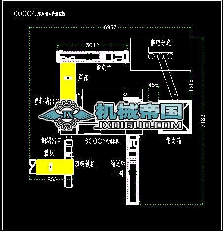 600C设备分布图