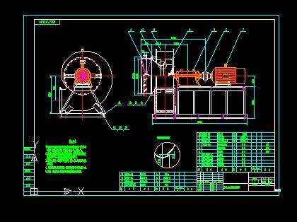 Y5-47-12D 风机总装图