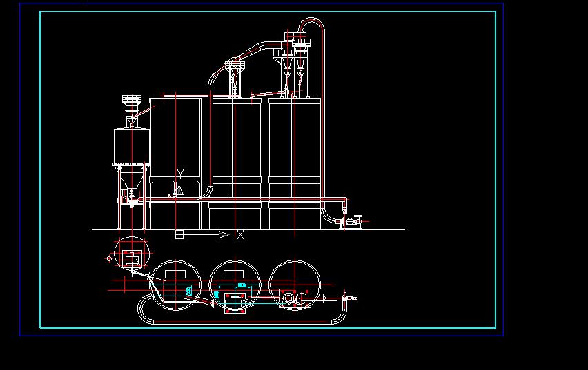 蜗壳式35-40t/h粉煤灰分选系统