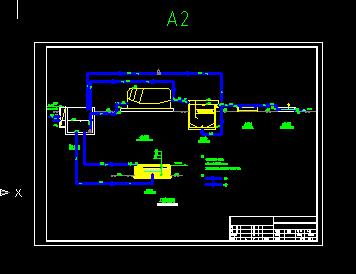 40td生活污水处理工艺图及施工图