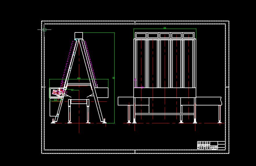 分拣机设计图