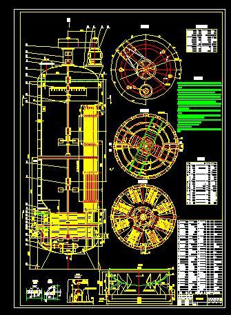 240m3发酵罐总装图