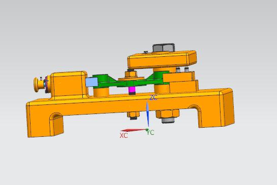 拨叉零件钻孔夹具设计三维图