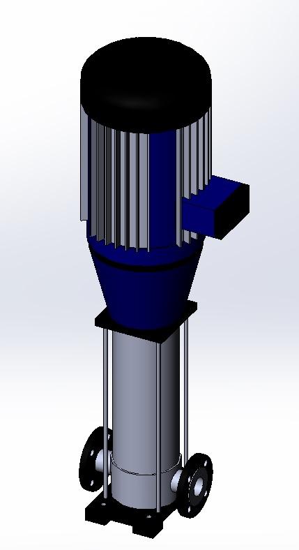 南方-立式多级离心泵-CDMF42-20-2.SLDPRT