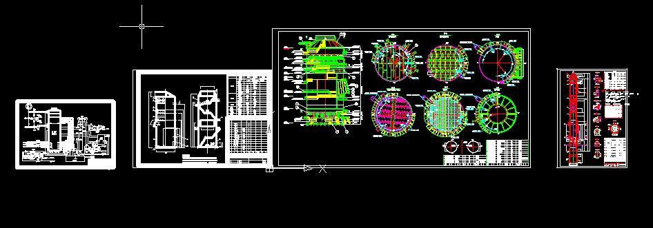 几种烟气脱硫塔设计图