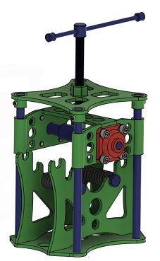 金属折弯机3D图纸 STEP格式
