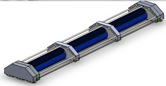 太阳能板清洁机器人3D图纸 STEP格式