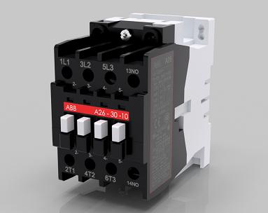 ABB交流接触器A26-30-10模型3D图纸 STEP格式