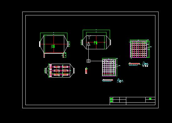 活性炭过滤箱结构图