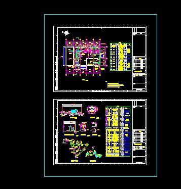 脱水机房结构图