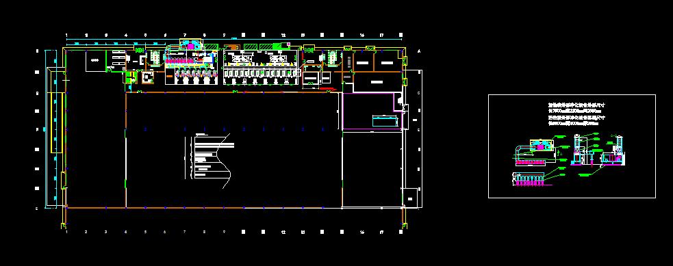 金属加工企业VOCs废气处理设备设计图