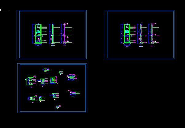 街边电话亭设计节点图