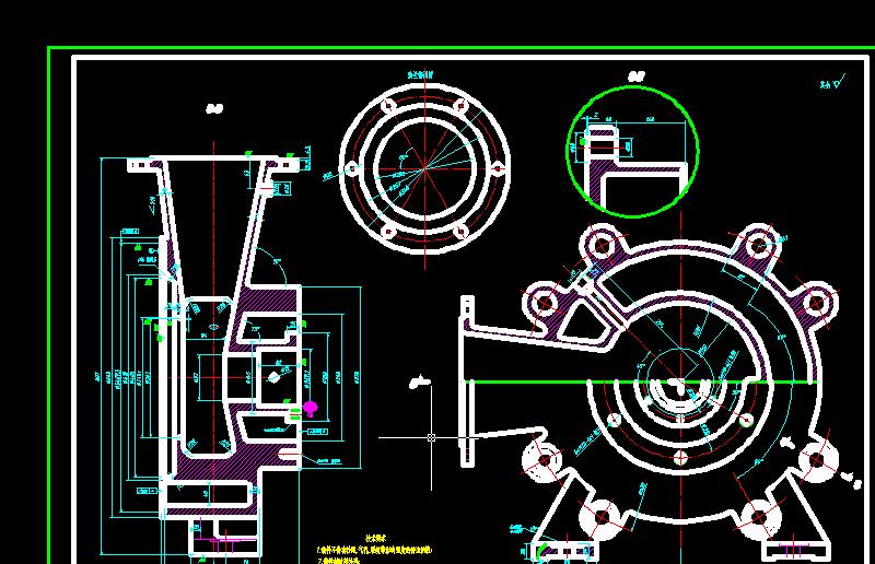多级离心泵 吸入室A1