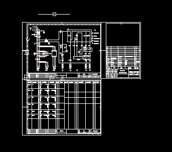 喷涂机电气原理图