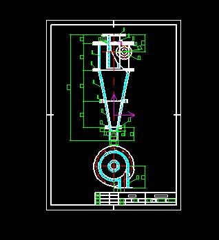 FX350旋流器总装图