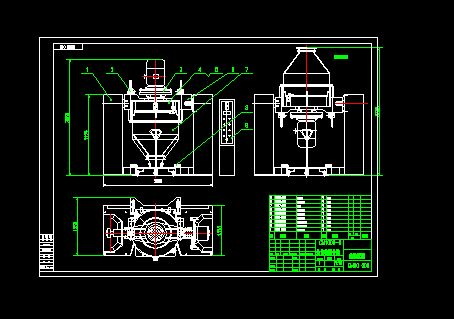 自动混合机结构图