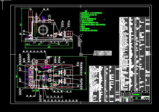 高炉液压系统装配图