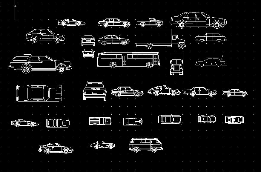 汽车模型CAD图大全
