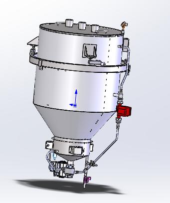 液体物质分配器模型