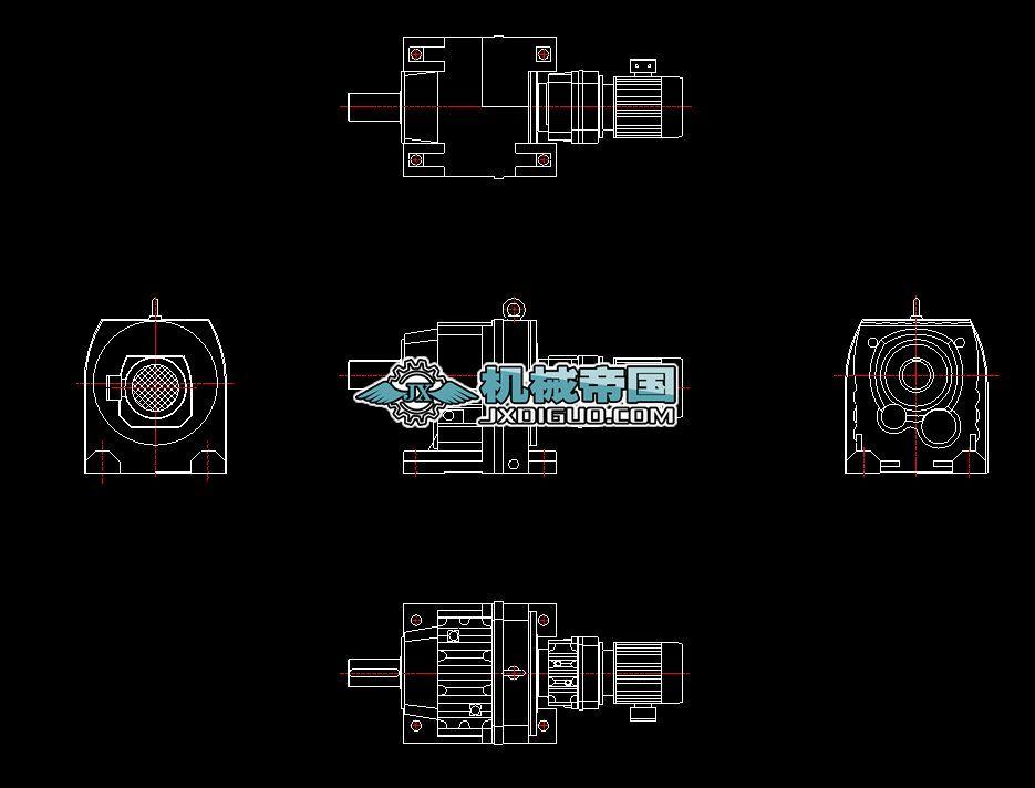 减速器GR137R77-90S