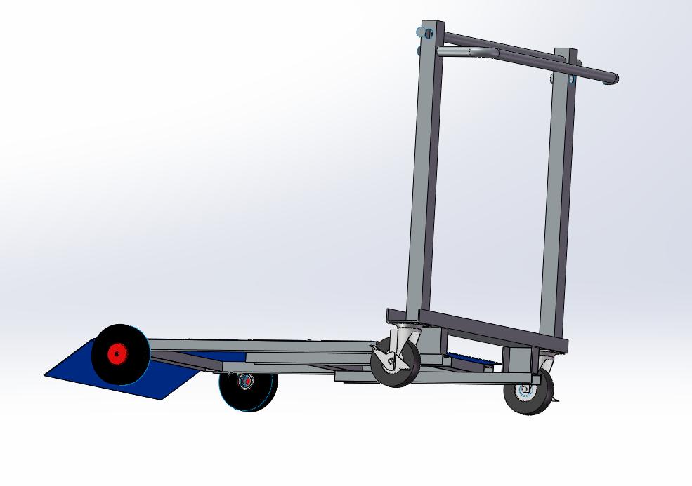 小推车3D模型图